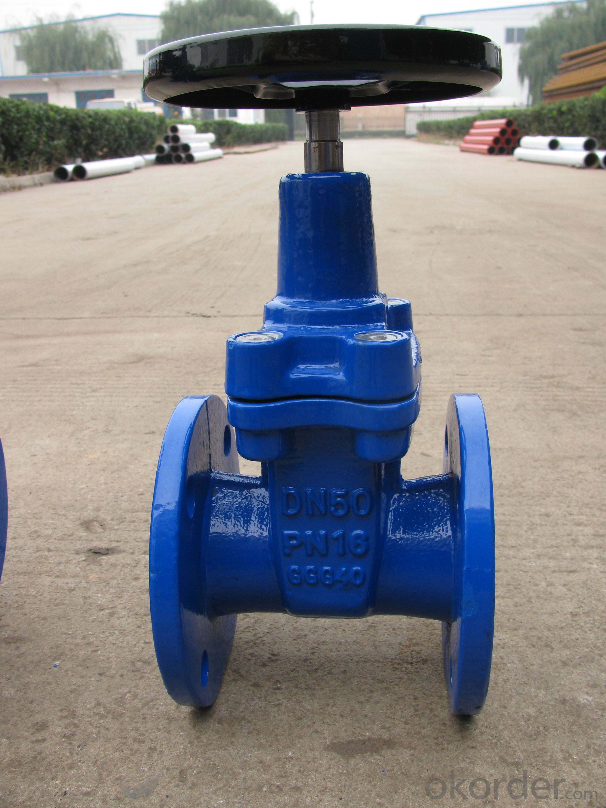 Non-rising Stem Metal Seated Gate Valve DIN3202 F4
