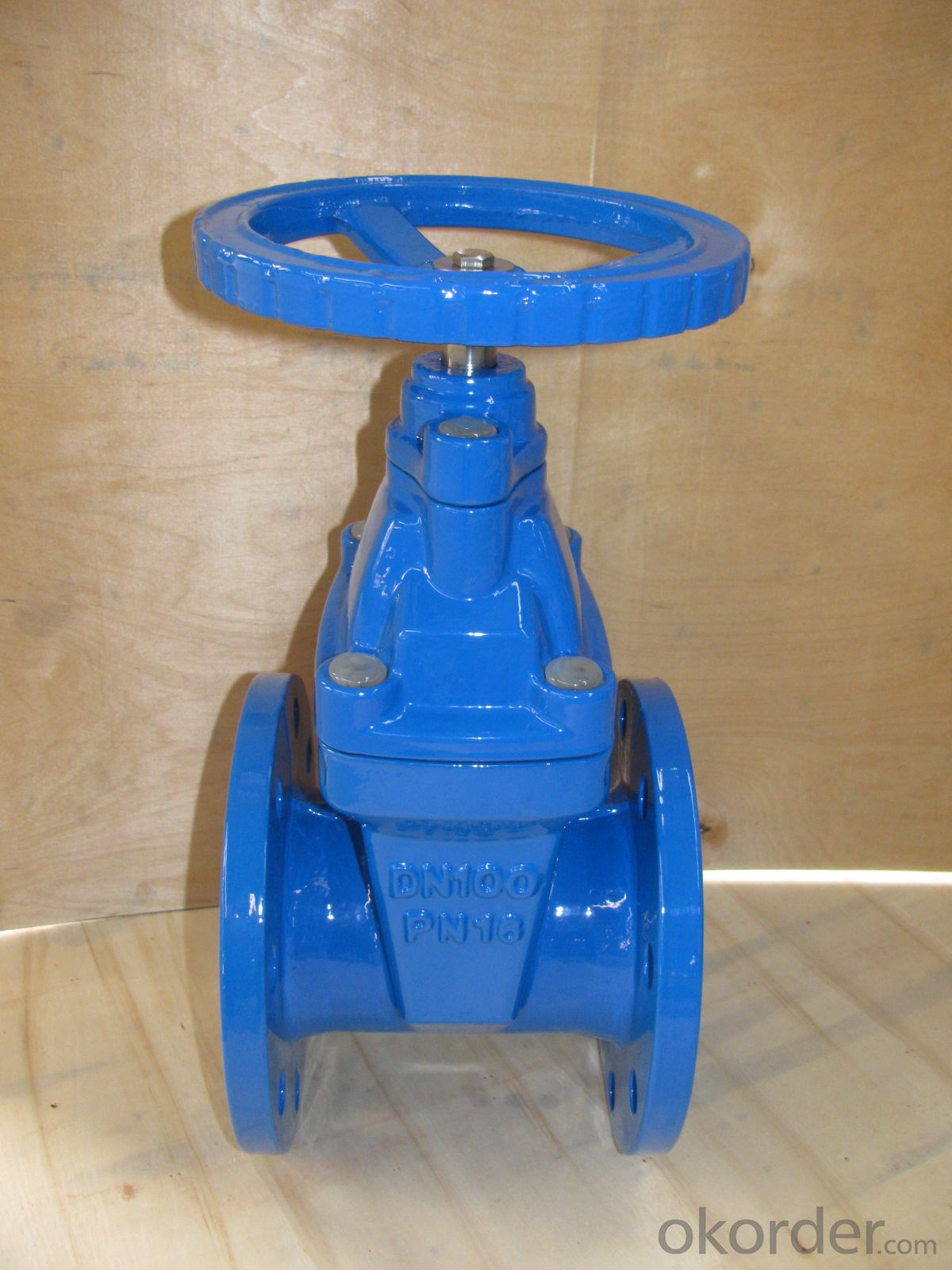 Non-rising Stem Metal Seated Gate Valve DN100
