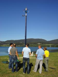 Wind Turbine 300W for Street Light