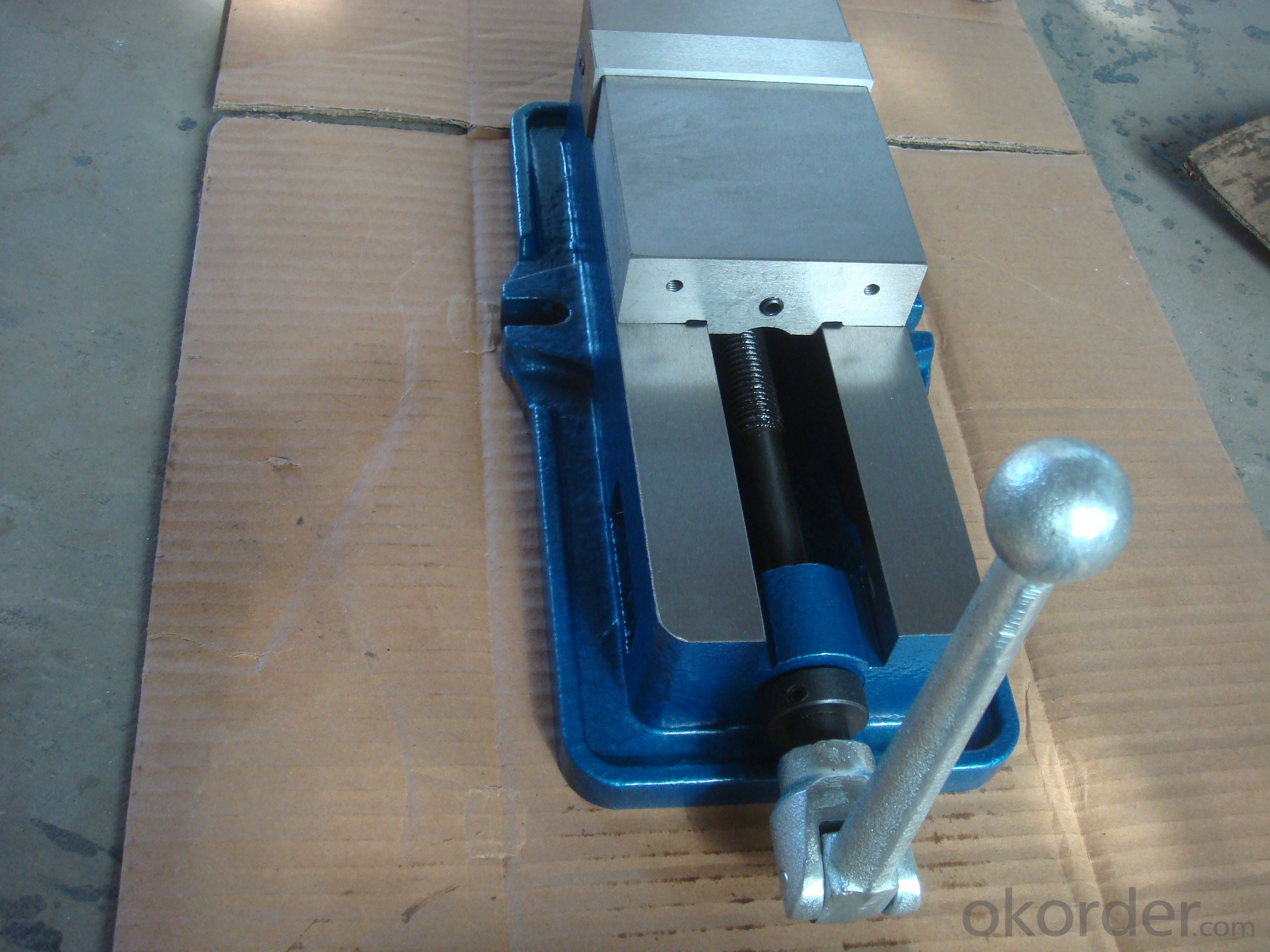 QM16125 ACCU-LOCK MACHINE VICE WITHOUT SWIVEL BASE