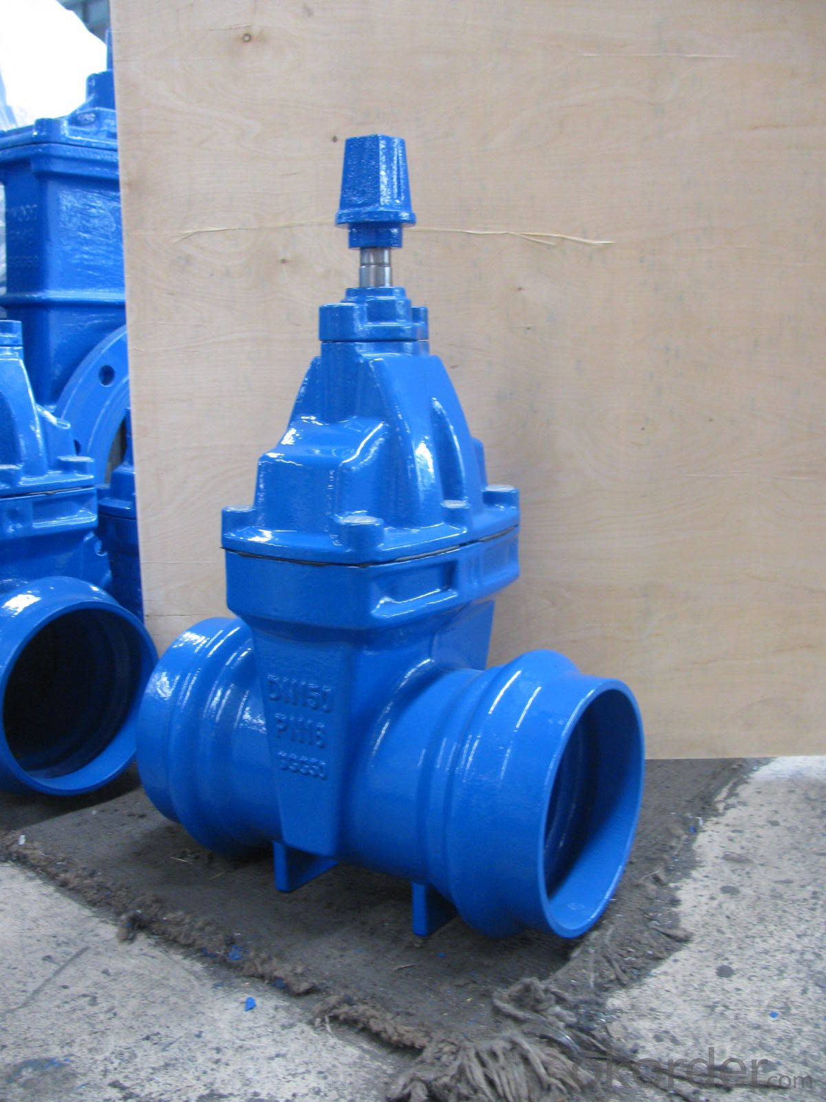 Rising Stem Solid Wedge Gate Valve DN40