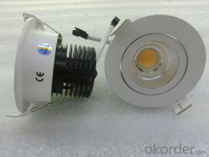 New Arrivals!!! Hot sale round COB LED Down light 5W 10W 15W 30W