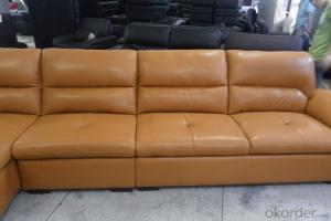 leather  corner sofa manafacturer  6913
