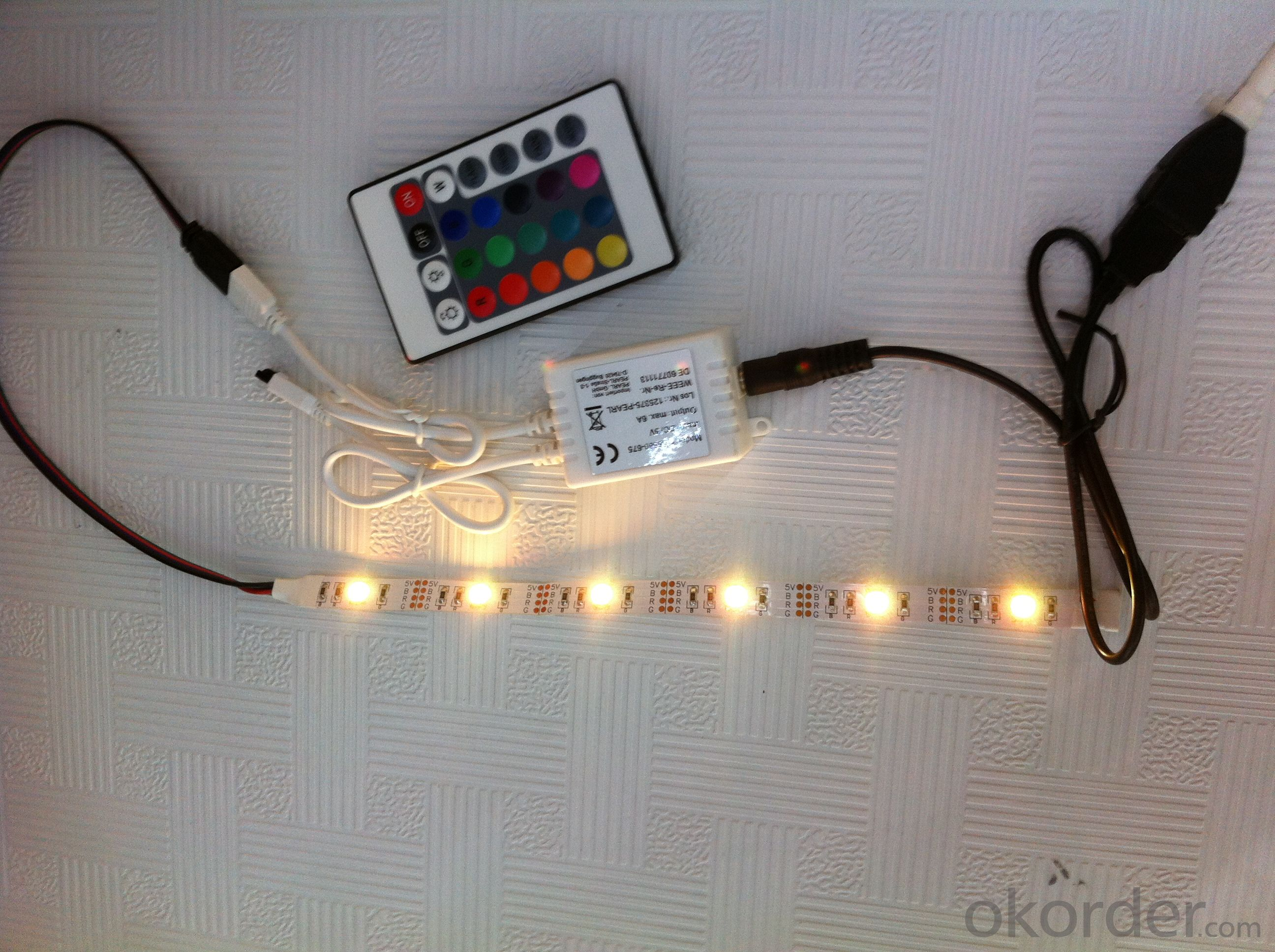 portable RGB LED Strip;SMD5050 LED USB strip
