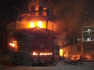 EAF-60t Steel scrap steelmaking electric arc furnace