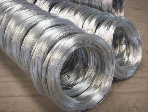 0.9 MM Eelctro Binding Galvanized Wire INDIA Market BWG22 Wire