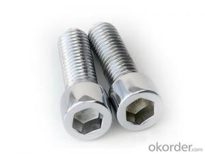 Hex Head Non-standard zinc Auto Fasteners Bolt and Nut