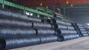 Carbon  Steel Hot Rolled Wire Rod in Coil
