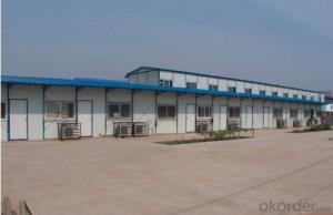 High quality color steel sandwich panel prefabricated houses