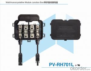 Unpotting Junction Box for Solar ModulePV-RH701L