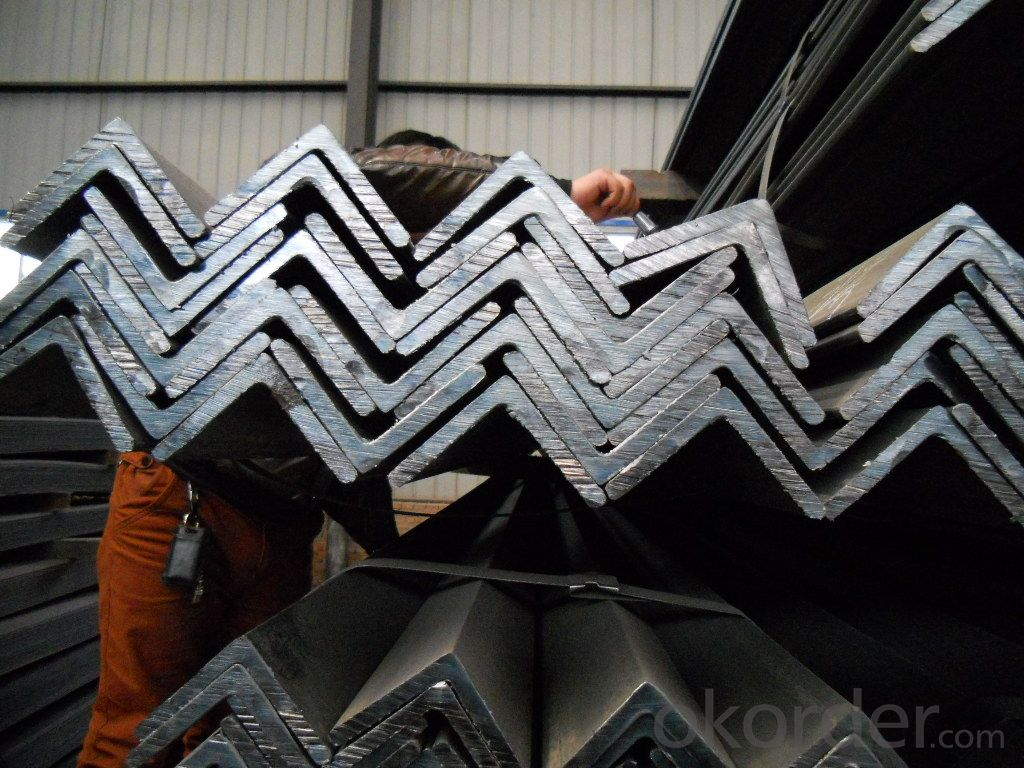 Hot Rolled Equal Angle Steel  Bar Different Sizes High Quality