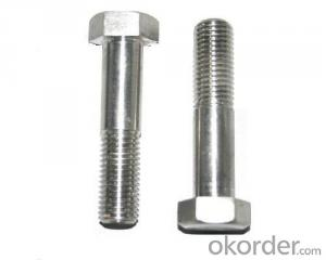 Good quality hex bolts and nut