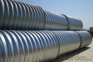 Large Diameter Corrugated Welding Steel Pipe