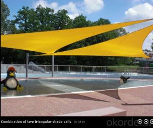 Shade Cloth Sail Shade for Car Sun Shade /Coffee shop and Kidgarden