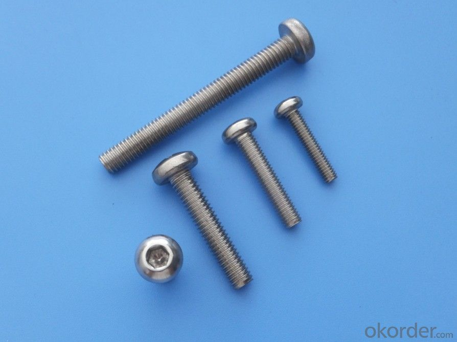 Best Hex Socket Button Head Machine Screw SS with low Prices