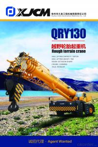 Rough terrain crane QRY130