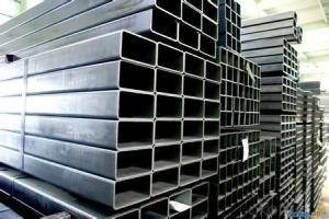 Construction Material Q235 Black Welded Tubular Steel