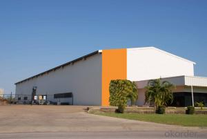 prefabricated steel structure factory warehouse