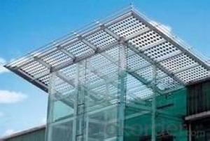 solar glass for BIPV