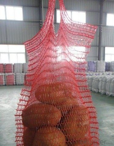 pp leno mesh bags for potato cabbage