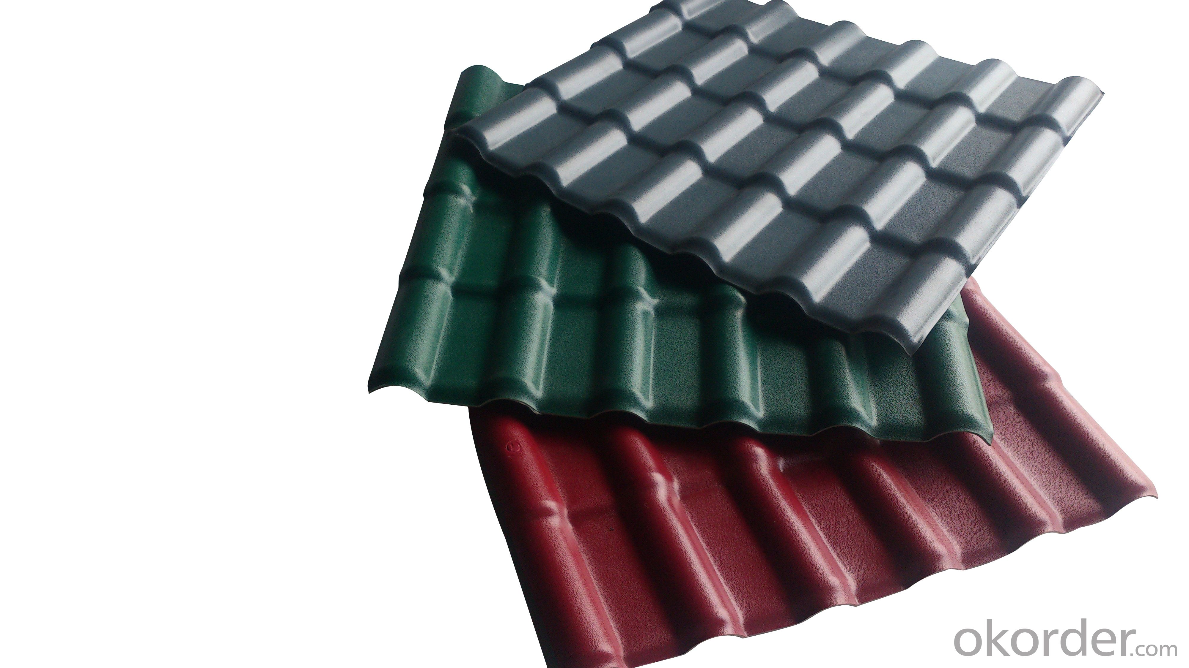 Low cost Synthetic spanish roof tile