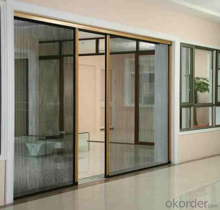 Buy Pleated Retractable Screen Window And Door System