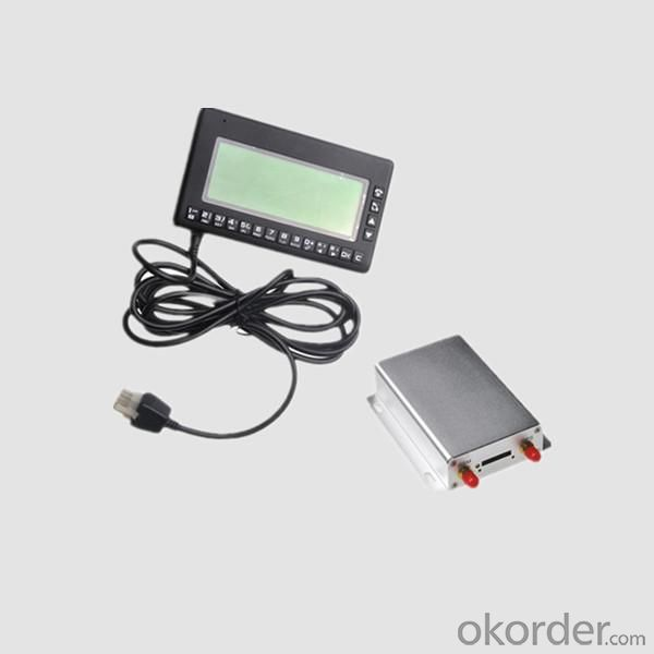 Multi-function gps tracker with LCD display