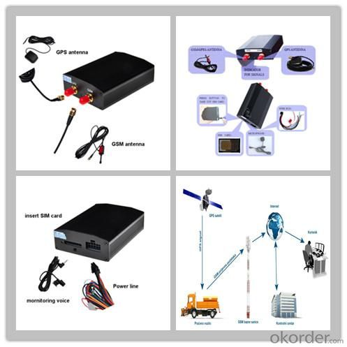 Vehicle GPS Tracke with Fuel Sensor for Fleet Management