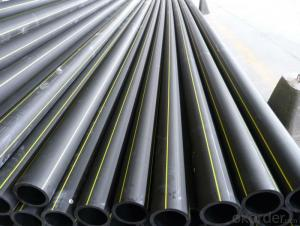 DN75mm HDPE pipes for water supply China manufacturer