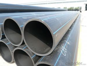DN400mm HDPE pipes for water supply on Sale