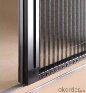 Buy Pleated Retractable Screen Window And Door System