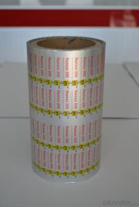 Pharmaceutical Printed and  Lacquered Aluminum Foil 20-30Micron