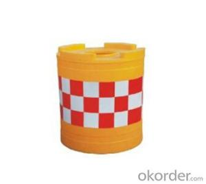 Blowing Plastic safety crash bucket three pieces safety bucket