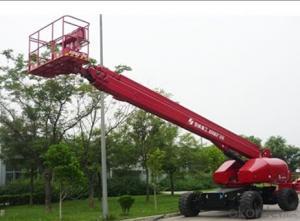 self propelled telescopic boom lift  GTBZ26/28