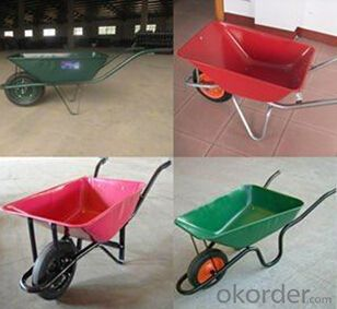 Garden wheel barrow tray WB6410