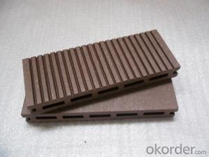 Popular Outside Flooring WPC Decking Anti-corrosive Anti-insect