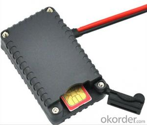 Small GPS Tracker allows you to find and track a car by sending SMS message