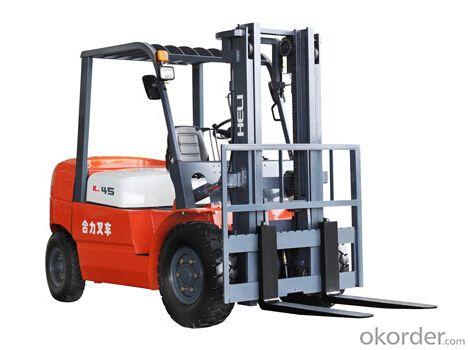 K Series 4-4.5T I.C. Counterbalanced Forklift Trucks
