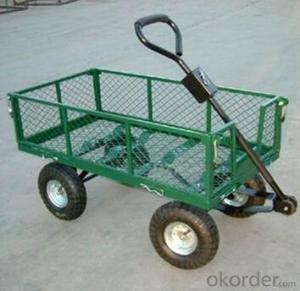 Garden tool wagon cart