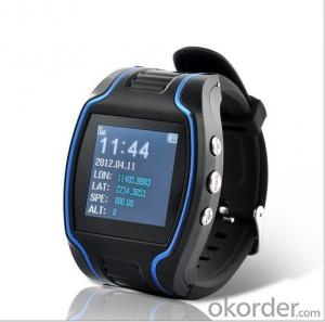 Wrist Watch GPS Tracking Device for Kids with SOS Web