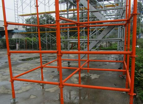 Ring Lock Scaffolding System for Construction