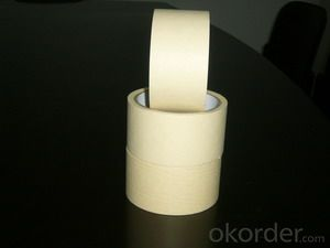 Medium Tack Masking Tape in Various Colors and Sizes