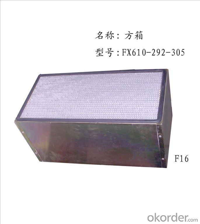Foctory HEPA filter from China