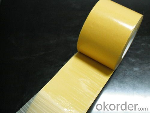 Double Sided Tissue Tape With Solvent Based Adhesive Of Outstanding Bonding Strength
