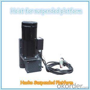 LTD6.3 LTD8.0 1.5KW Suspended Platform Hoist 6.3KN 8KN 8-10m/min