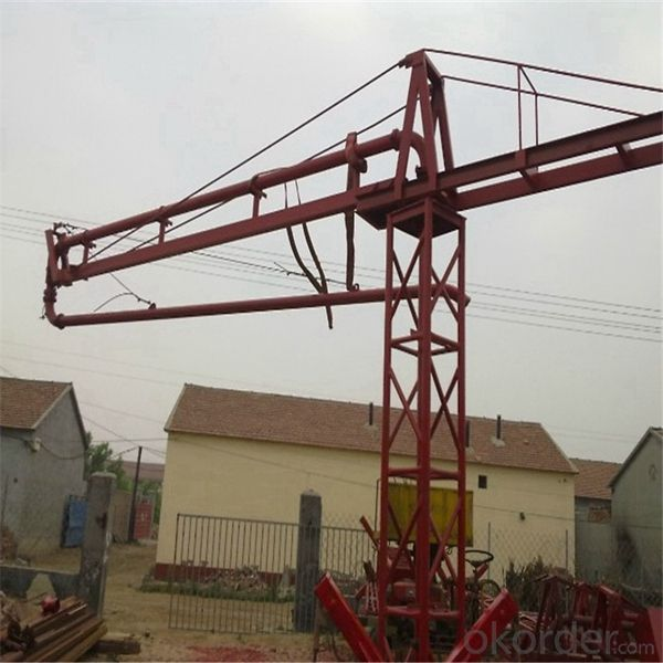 Manual Concrete Placing Boom Made In China