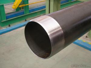 Threaded pipes with advanced threading machines