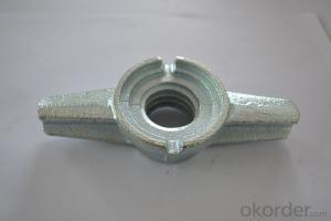 building steel Hex Nut casted/formwork tie rod nut/formwork building systems