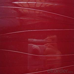 High Gloss Red Solid Color PVC Film with Best Price