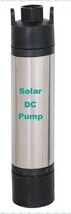 Built-in Controller Solar Powered Submersible Pump for Farm